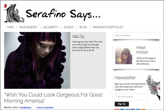 Serifino Says...